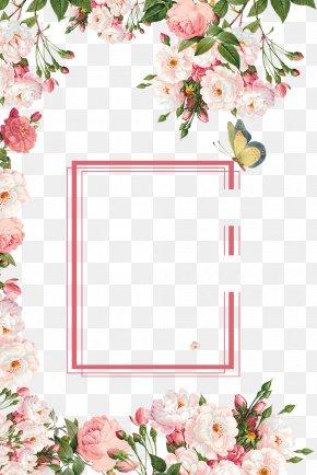Fresh Promotional Poster Background - Poster Sales Promotion Flower Download PNG