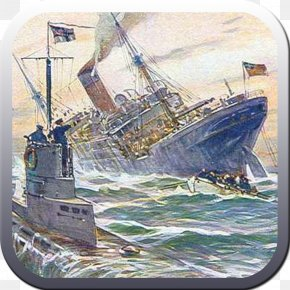 United States - First World War United States The Diary Of A U-boat Commander Sinking Of The RMS Lusitania PNG