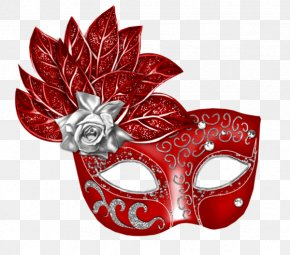 Red Mask - Mask Carnival Masquerade Ball Clip Art PNG