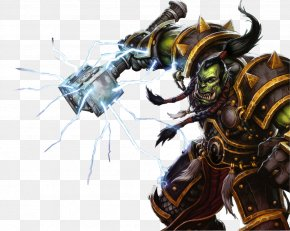 World Of Warcraft Transparent - World Of Warcraft: Wrath Of The Lich King World Of Warcraft: Cataclysm World Of Warcraft: Legion Orc Thrall PNG