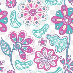 Purple Flowers Picture Material - Flower Texture Photography Wallpaper PNG