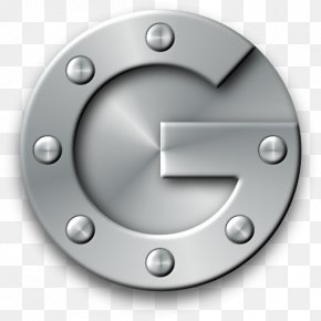 Google Authenticator - Wheel Metal Material Rim PNG