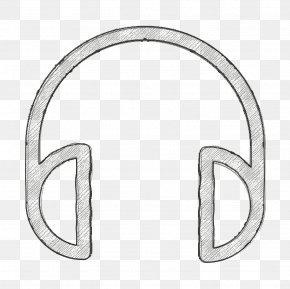 Metal Multimedia Icon - Audio Icon Headphones Icon Technology Icon PNG