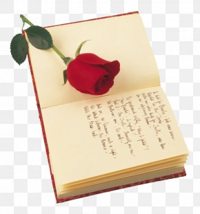 Rose Stood Books - A Red, Red Rose Poetry Saint Georges Day Valentines Day PNG