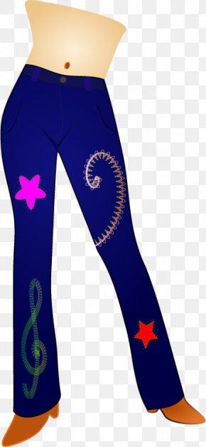 Jeans - Jeans T-shirt Denim Clip Art PNG