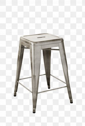 Stool - Tolix Bar Stool Steel Chair PNG
