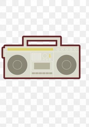 80s Radio - Aerosol Spray PNG