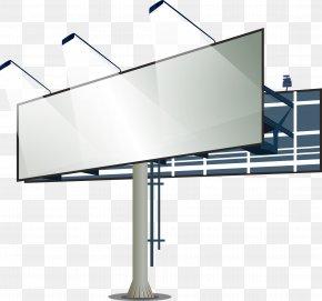 Outdoor Billboard - Advertising Billboard Lightbox PNG