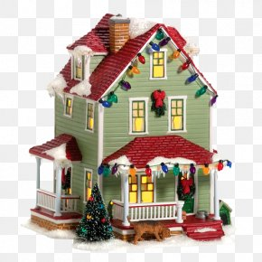 Houses - Ralphie Department 56 Christmas Village House PNG