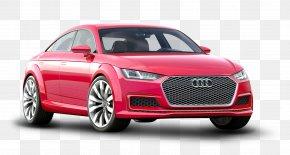 Red Audi TT Sportback Car - 2014 Audi TT Audi Sportback Concept Car Sport Utility Vehicle PNG