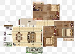 Vector Apartment Layout - Floor Plan PNG