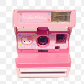 Pink Camera - Hello Kitty Photographic Film Instant Camera Photography PNG