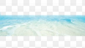 Sea, Water, Waves - Blue Sky Turquoise Wallpaper PNG