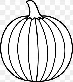Black And White Pumpkin Clipart - Pumpkin Free Content Website Clip Art PNG