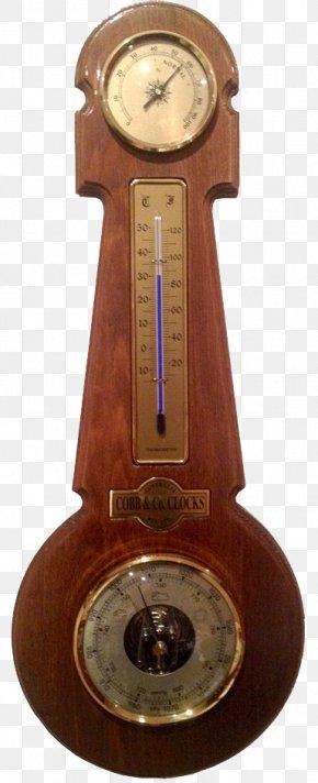 Vintage Hygrometer - Barometer Weather Station Hygrometer Thermometer PNG
