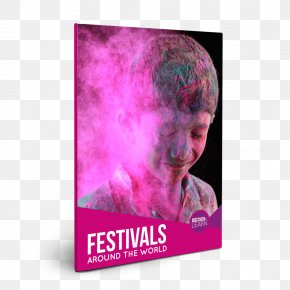 Festival Material - Festivals Around The World Book Magenta Violet Purple PNG