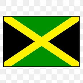 Flag - Flag Of Jamaica National Emblem Jamaican Blue Mountain Coffee PNG