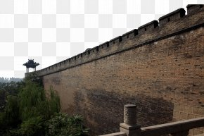 Ancient Brick Wall - Roof Facade Wall Property Historic Site PNG