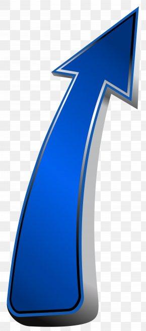 Up Arrow Blue Transparent Clip Art Image - Arrow Clip Art PNG