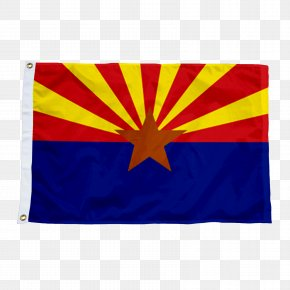 Flag - Flag Of Arizona State Flag Flag Of The United States PNG