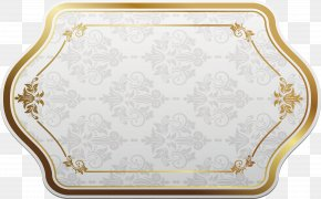 Paper Border Gold - Paper ISO 216 PNG
