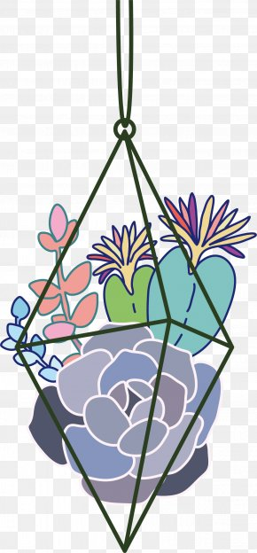 Hand-painted Flowers Vector - Flower Euclidean Vector Clip Art PNG