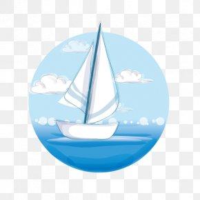 Sea Sailing - Sailing Ship Sea PNG