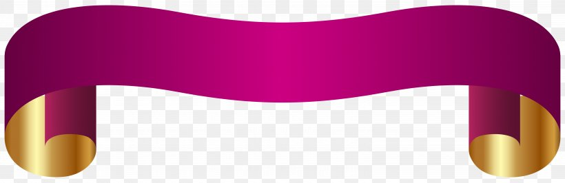 Banner Paper Clip Art, PNG, 6176x2006px, Banner, Animation, Clip Art, Heart, Magenta Download Free