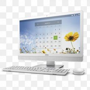 Laptop - Desktop Computers Dell Computer Monitors Laptop Personal Computer PNG