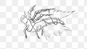Jungle Vines - Line Art Figure Drawing Sketch PNG