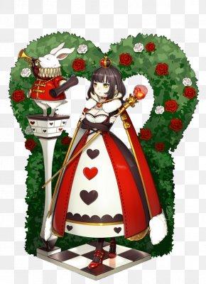Queen Of Hearts - Queen Of Hearts Alices Adventures In Wonderland Illustration PNG