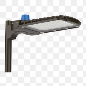 Light Pole - Light Fixture Lighting LED Street Light PNG