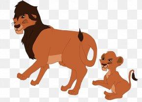 Cii Vector - Lion Dog Cat Illustration Mammal PNG