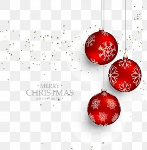 Red Christmas Ball Ornaments - Christmas Ornament Because Of Bethlehem (Pack Of 25) Santa Claus PNG