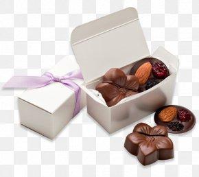 Chocolate Box - Chocolate Truffle Praline Bonbon Fudge PNG