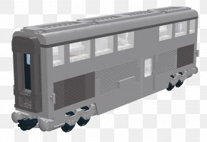 Train - Train Passenger Car Railroad Car Rail Transport PNG