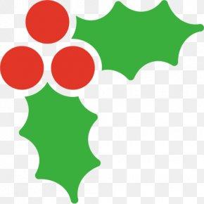 Mistletoe - Holly Mistletoe Christmas Clip Art PNG