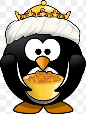 King Penguin - The Penguin In The Snow Cartoon Clip Art PNG