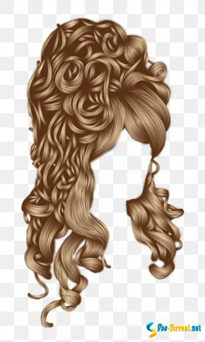 Hair - Long Hair Wig Hairstyle Capelli PNG