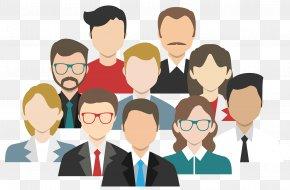 Business People - Web Development Customer Marketing Custom Software PNG