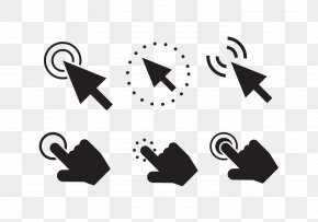 Mouse Click Button - Computer Mouse Arrow Button Icon PNG