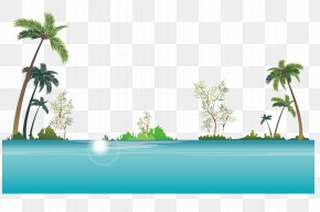 Beach Scene Vector - Stock Photography Royalty-free Illustration PNG