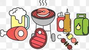 Barbecue Party - Barbecue Chicken Carbonade Flamande PNG