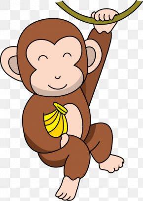 Cartoon Monkey Cliparts - Baby Monkeys The Evil Monkey Clip Art PNG