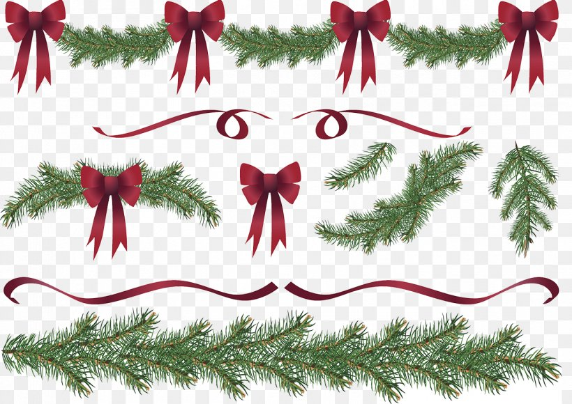 Christmas Tree Garland Wreath Clip Art, PNG, 1299x920px, Garland, Branch, Christmas, Christmas Decoration, Christmas Ornament Download Free