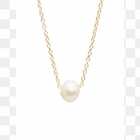 Necklace - Pearl Necklace Earring Jewellery Gold PNG