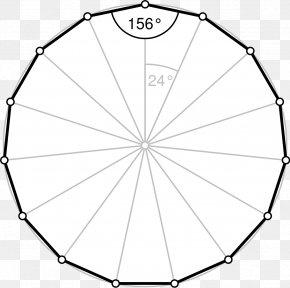 Polygon - Regular Polygon Shape Icosagon Internal Angle PNG