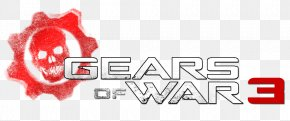Gears Of War 3 Logo - Gears Of War 4 Gears Tactics Gears Of War 5 Logo Letter PNG