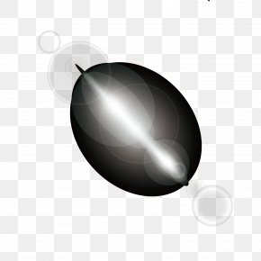 Vector Material Pattern White Light Halo Shiny - Black White Sphere Wallpaper PNG