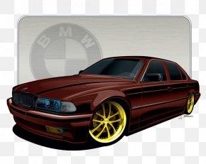 Bmw - BMW 7 Series (E38) Car 1998 BMW 740iL Grille PNG